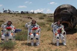 chinese spacegraft woman 'taikonaut'