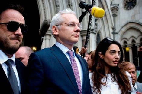 Julian Seeks Asylum Ecuador Embassy
