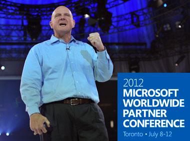 Microsoft Sirface steve balmer wpc