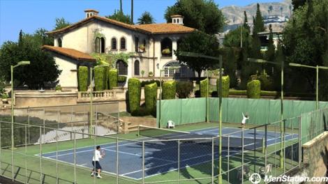 GTA 5 tennis court